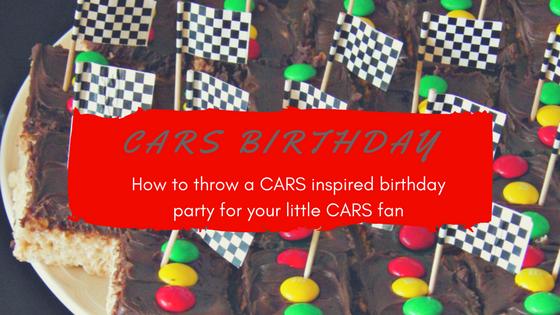 Cars birthday 1