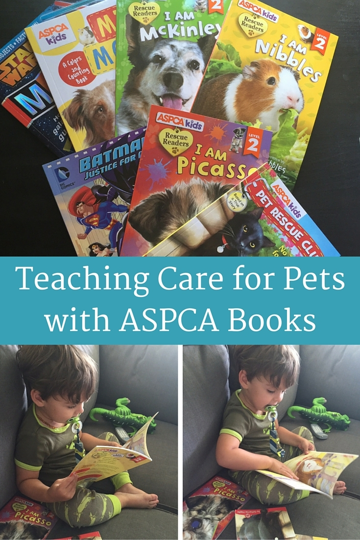 Teaching Care for Pets with ASPCA Books