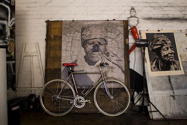 Themba Khumalo Dave Mann visual artist