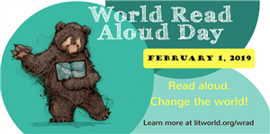 World Read Aloud Day | Feb. 1, 2019