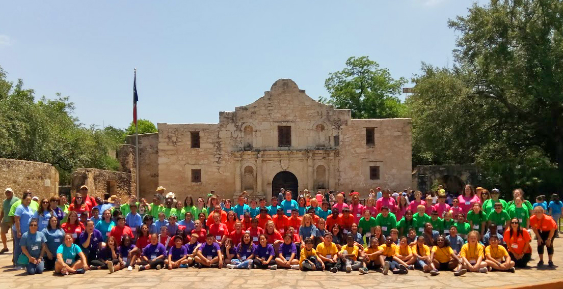 Binion Elementary fourth-graders travel to San Antonio and Austin onan Education in Action Discover Texas Field Trip