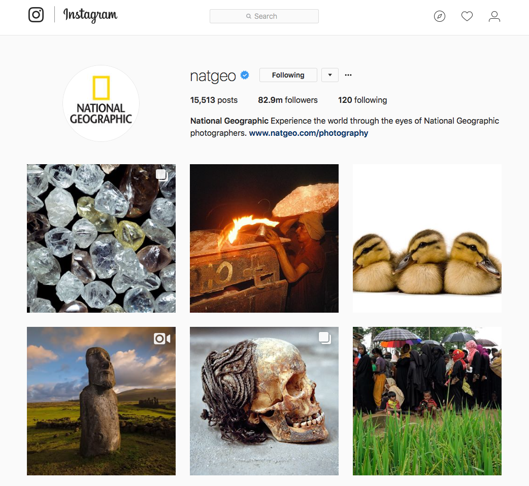 Nat Geo Instagram