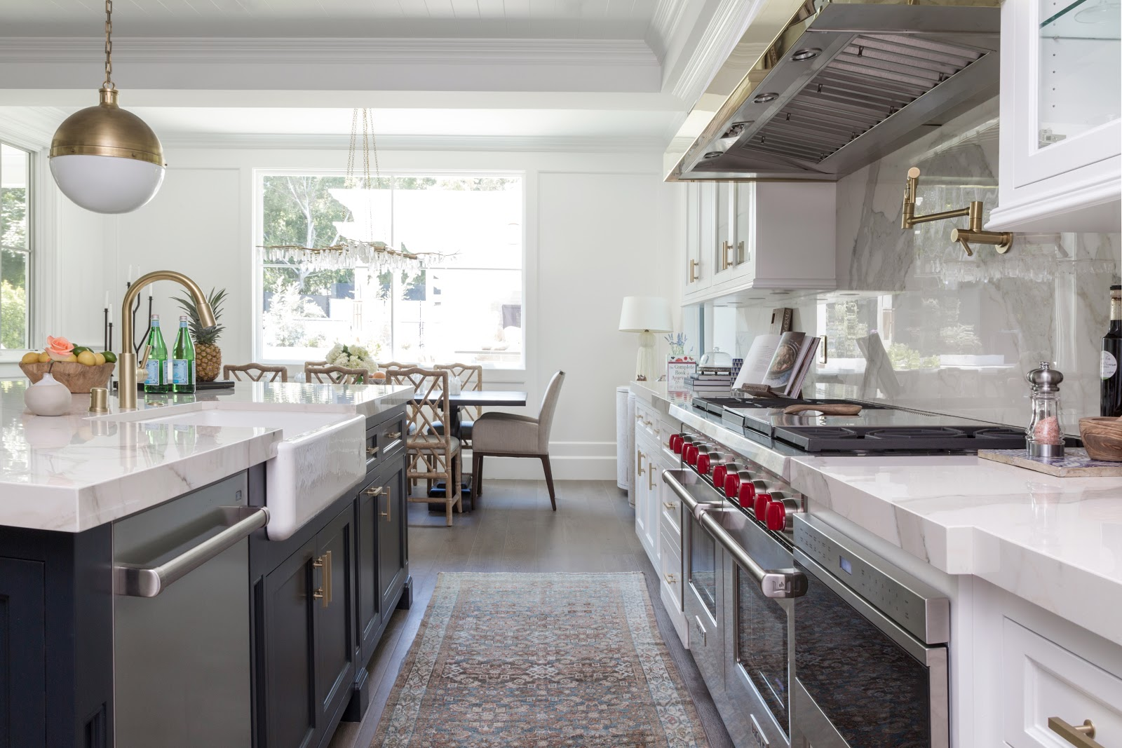 California inspired breezy kitchen with masculine cabinetry - Dbh-biz.info Interior Design