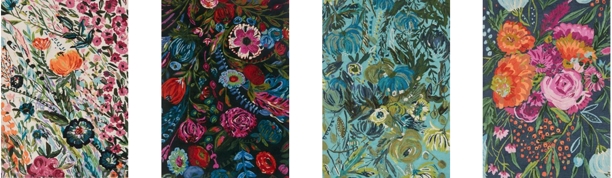 Loloi Rugs - Wild Bloom Collection from Las Vegas Market