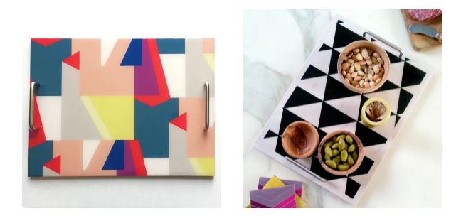 these serving trays from Post Studio are EVERYTHING
