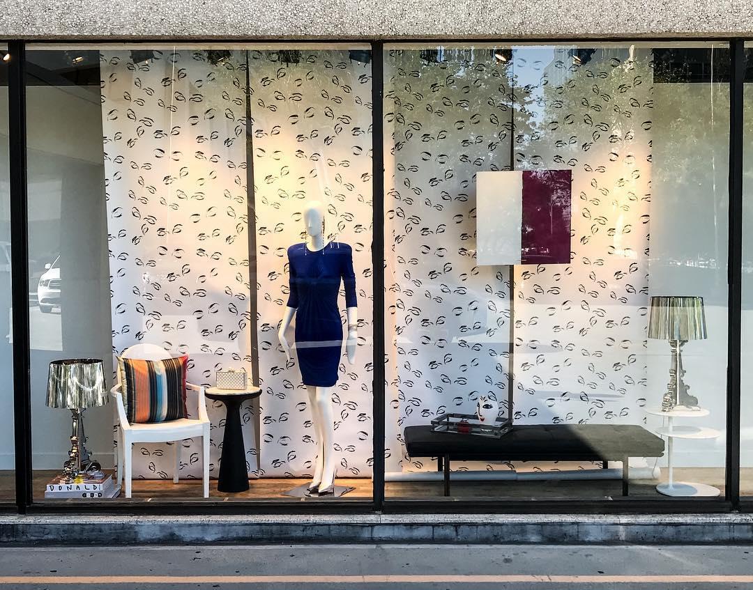 Neiman Marcus Texas Design Week window display by Ohorona24.in.ua Interior