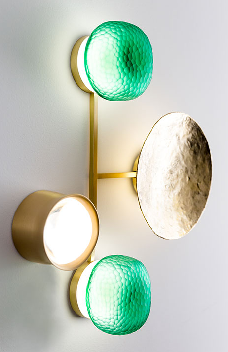 The Gioielli Sconce from Giopato & Coombes Editions