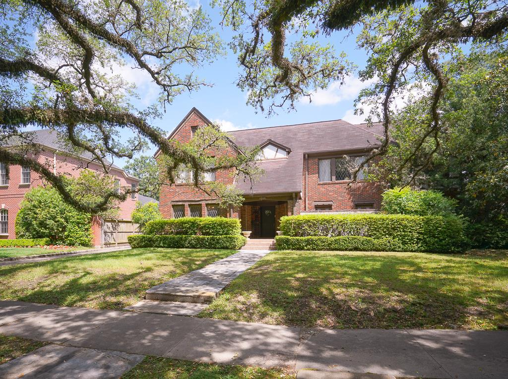 Boulevard Show House on historic North Boulevard in Houston, Texas