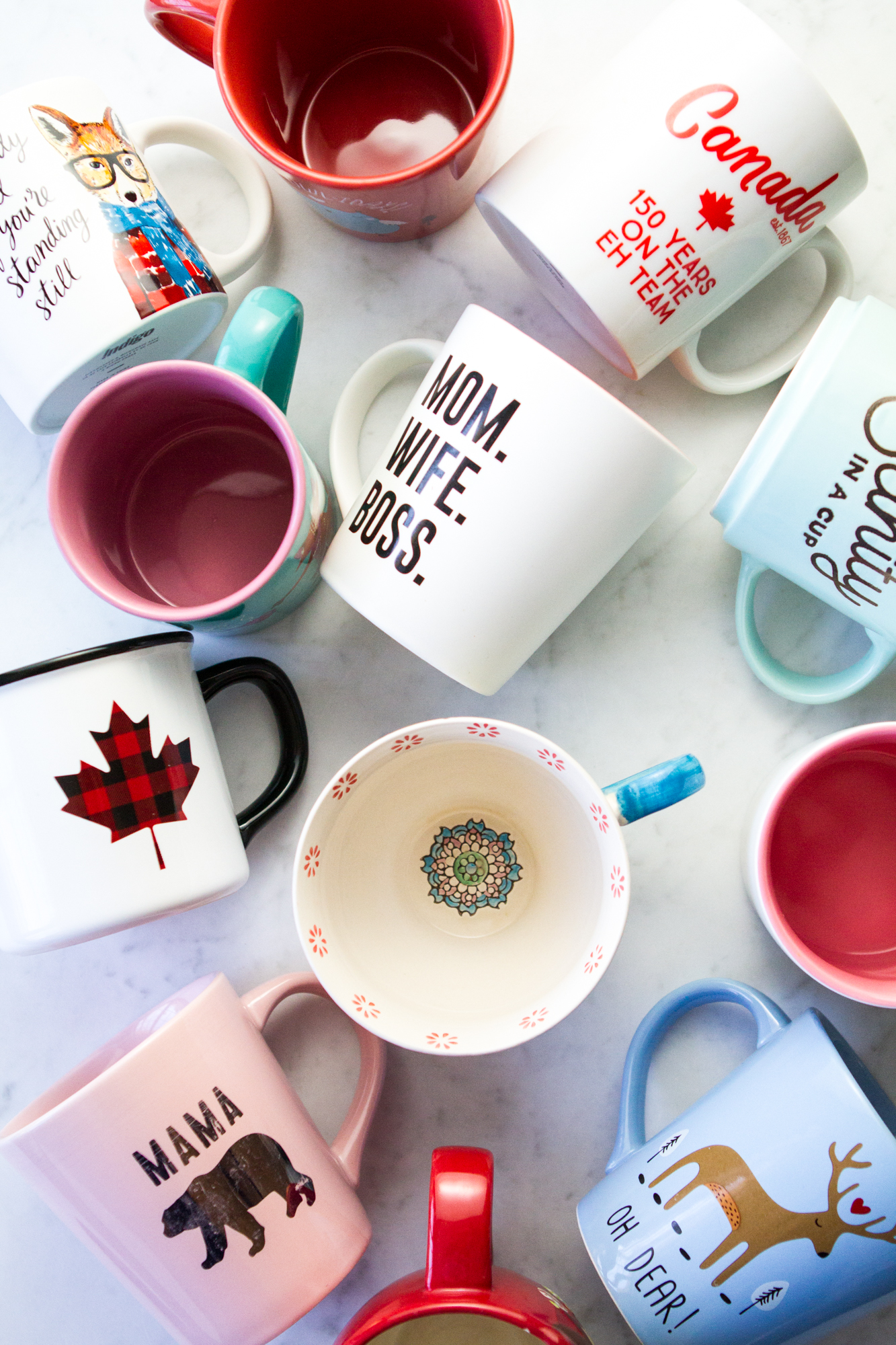 Crazy Mug Lady: A round-up of my fave mugs!