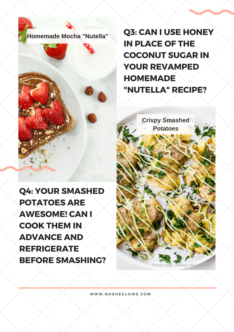 Vegan recipes by angela liddon oh she glows i have a question about your homemade mocha nutella recipe from the appdo you think i could use honey instead of coconut sugar forumfinder Image collections
