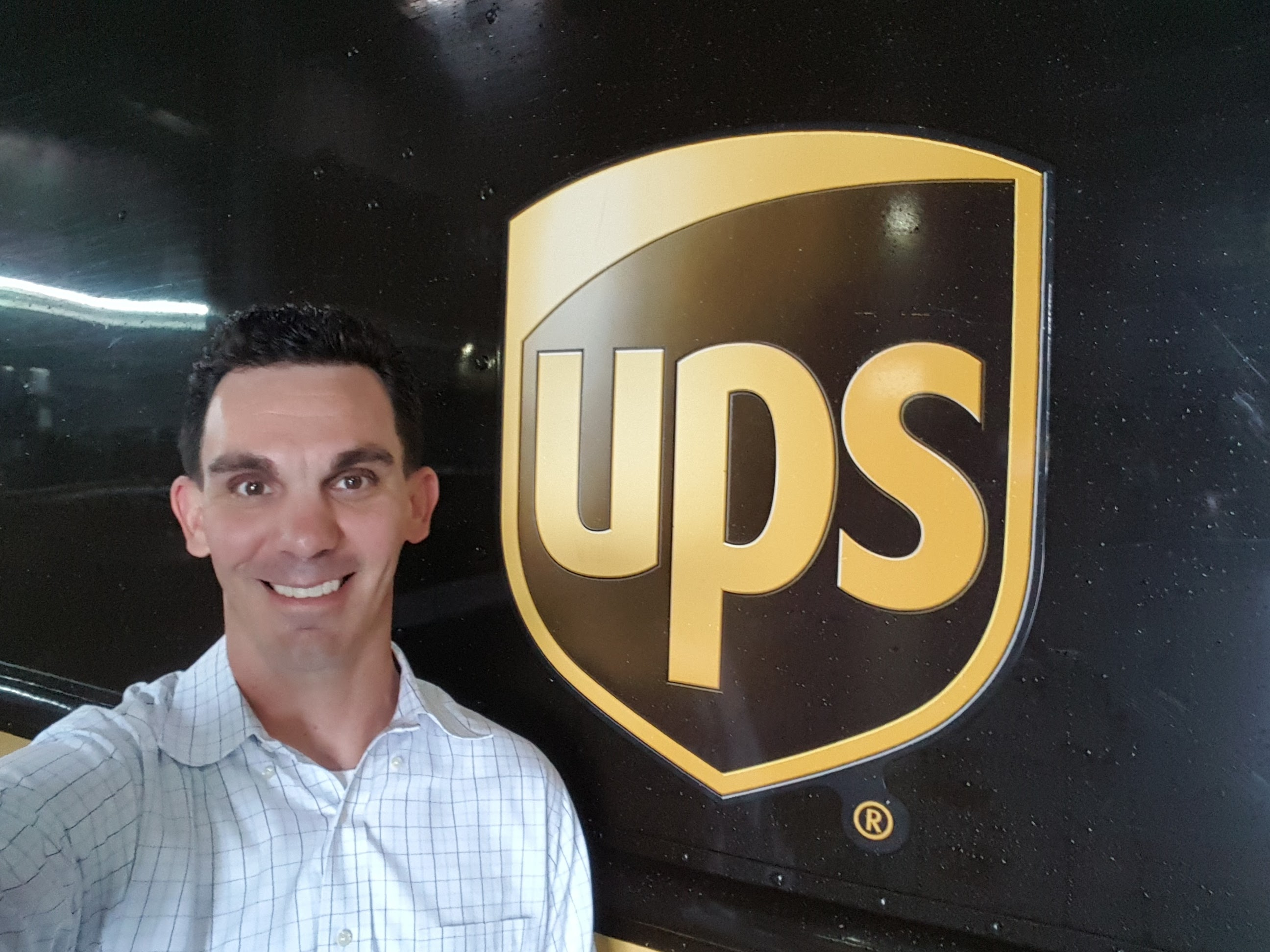 The Corporate Fellowship Program eased my fear of not finding a job after leaving the Marines, said John Morrison, corporate fellow at UPS.