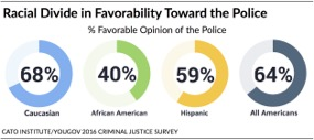 Support for Police by Race - American Police Officers Alliance