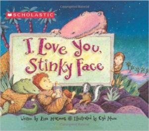 board books I Love You Stinky Face
