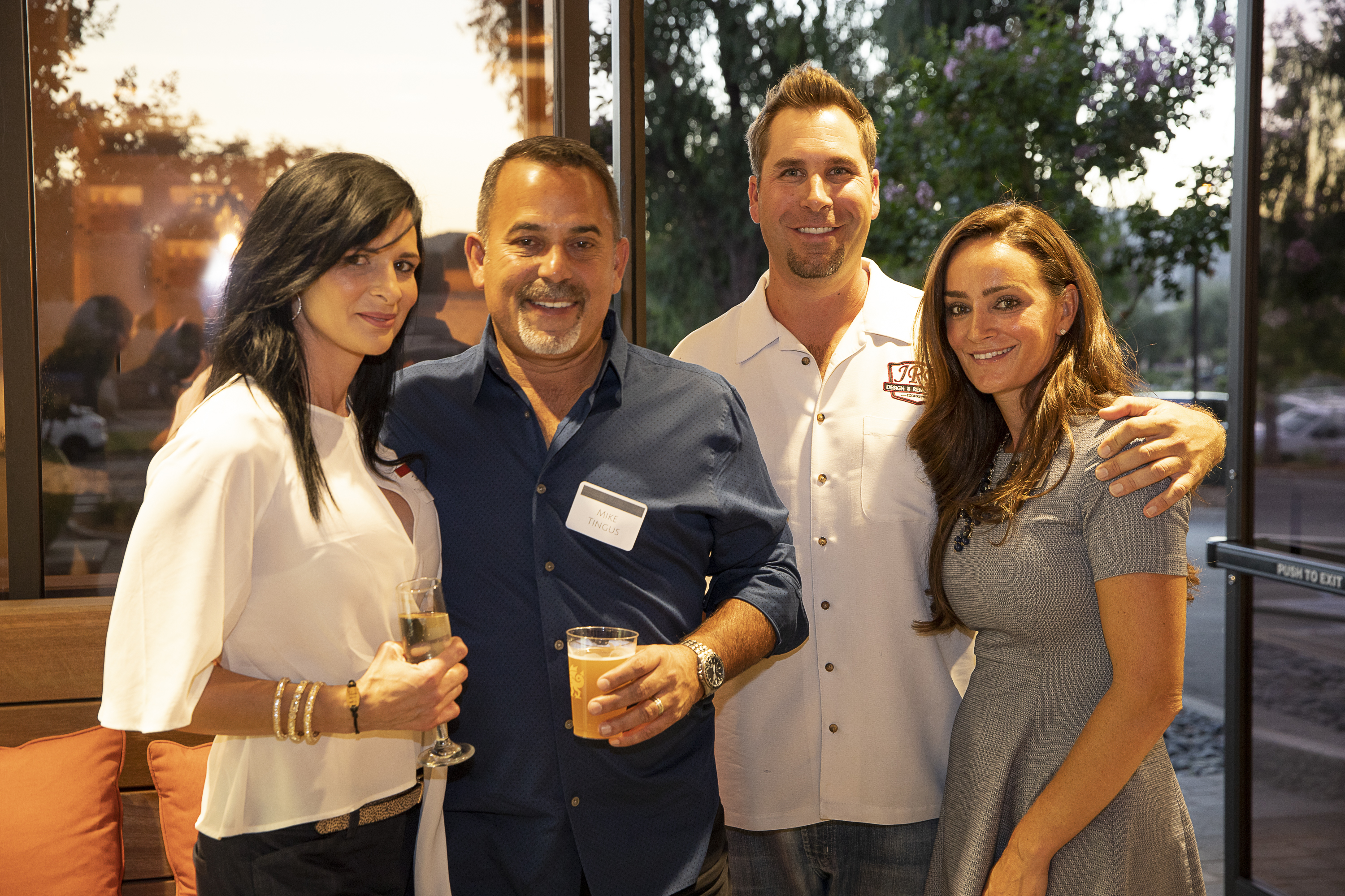 Client Appreciation September 2018 - Justin and Lori with guests