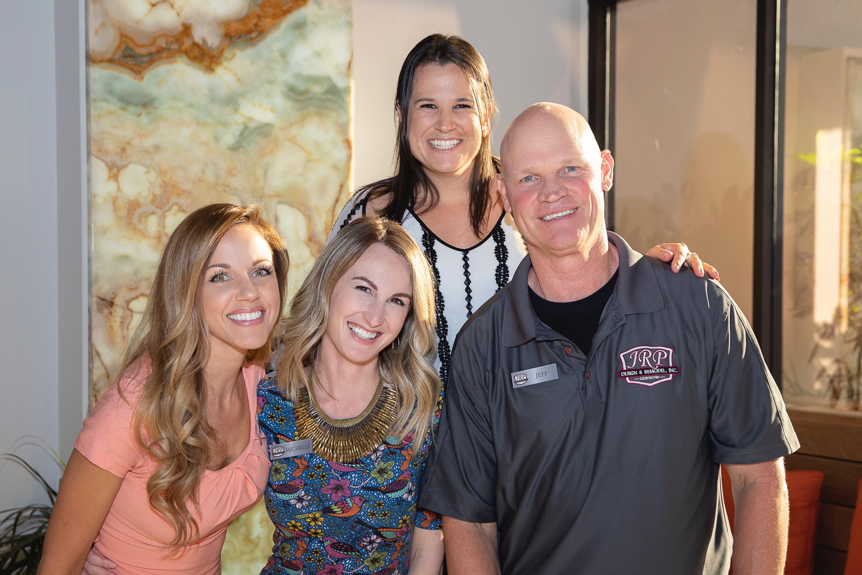 Client Appreciation September 2018 - Corey, Emily, Michelle, Jeff
