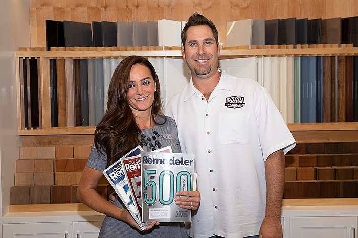 2018 Qualified Remodeler's Top 500 Lori and Justin