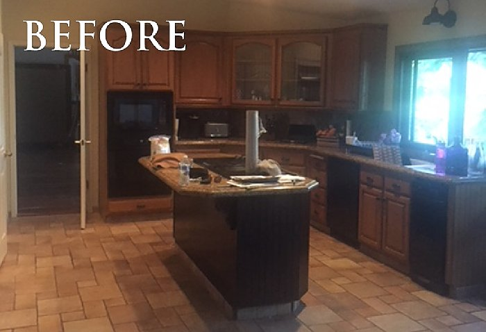 Client Review: Transitional Mediterranean Remodel before