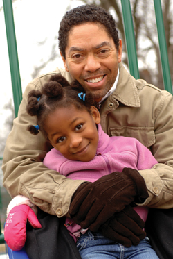 Christopher Harris with Daughter, Maria