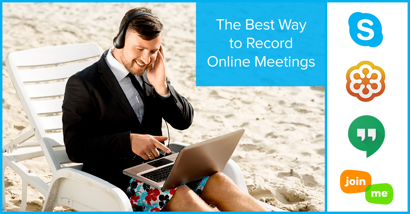 record virtual meetings