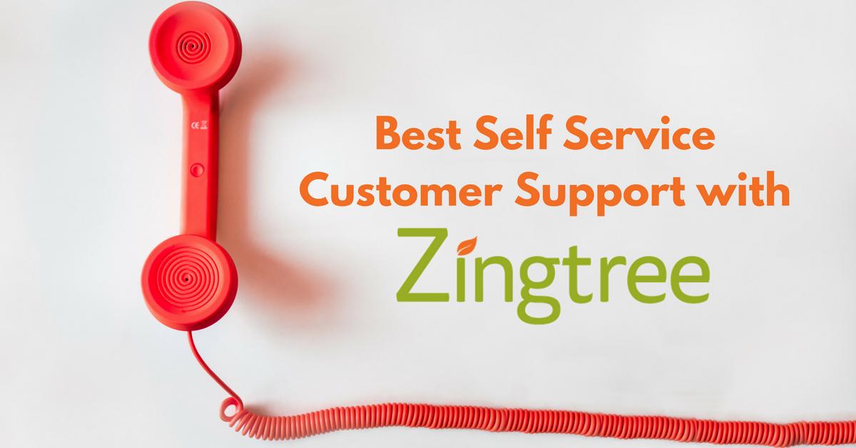 self-service customer support