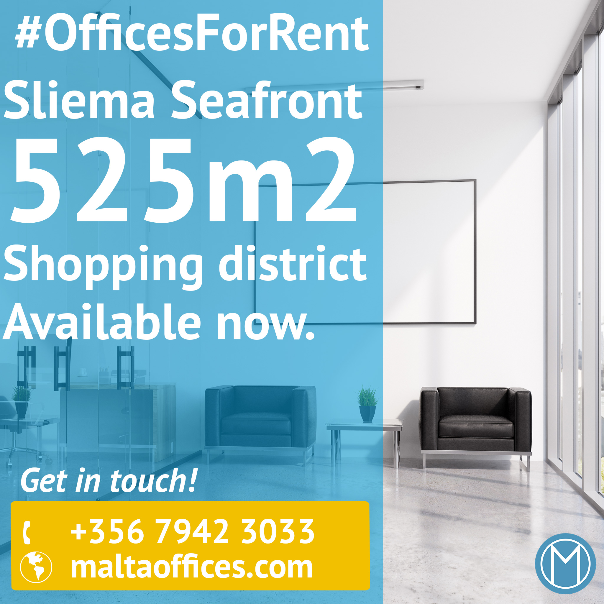 Office for rent at Sliema