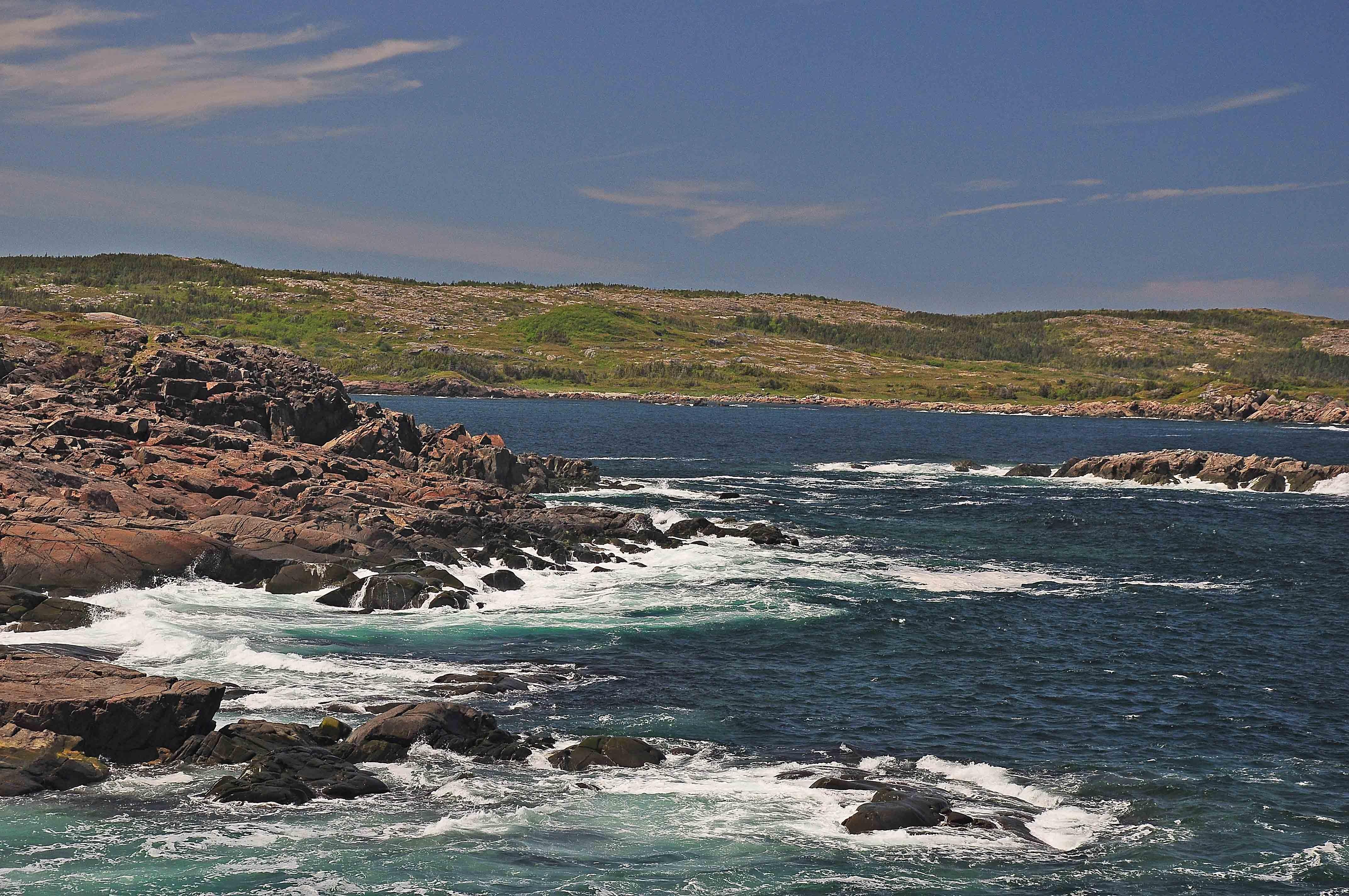 Fogo Island sea shore