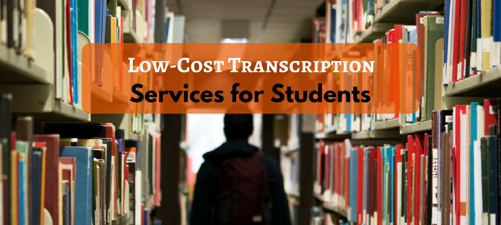 academic transcription services