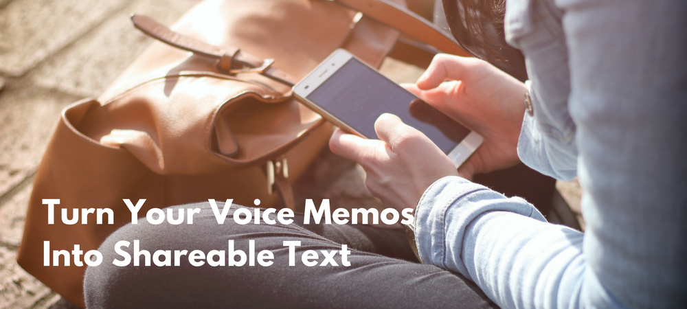 voice memos to text