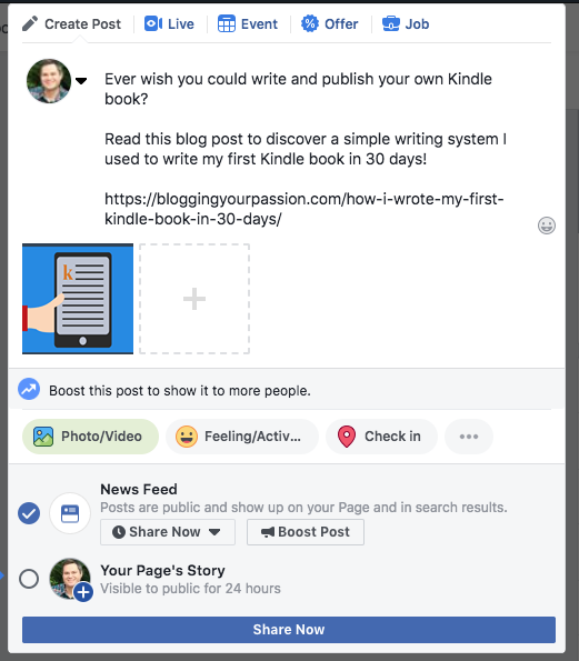 How to Boost a Post on Facebook - Beginner's Guide