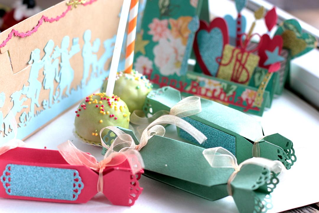Creating a Sweet Birthday Party Ensemble by Elena Olinevich Treat Box CloseUp