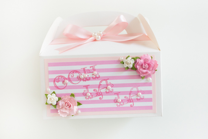 Delightful Ooh La La Party Favor Boxes by Alli Roth Step 7