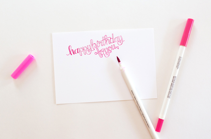 Creating a Happy Grams Personalized Birthday Card by Alli Roth Step 3