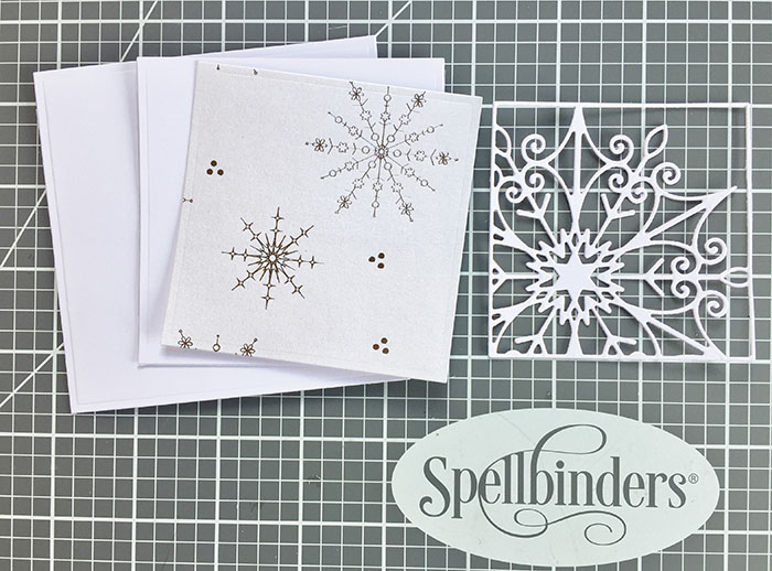 Easy Festive Mini Card in Minutes Step 3