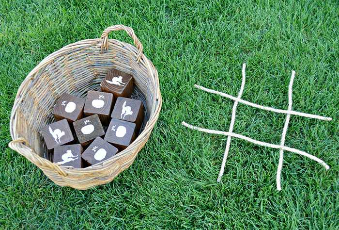 How to Create a Perfect DIY Wooden Halloween Tic Tac Toe Game by Miranda Webster Finished Image 1