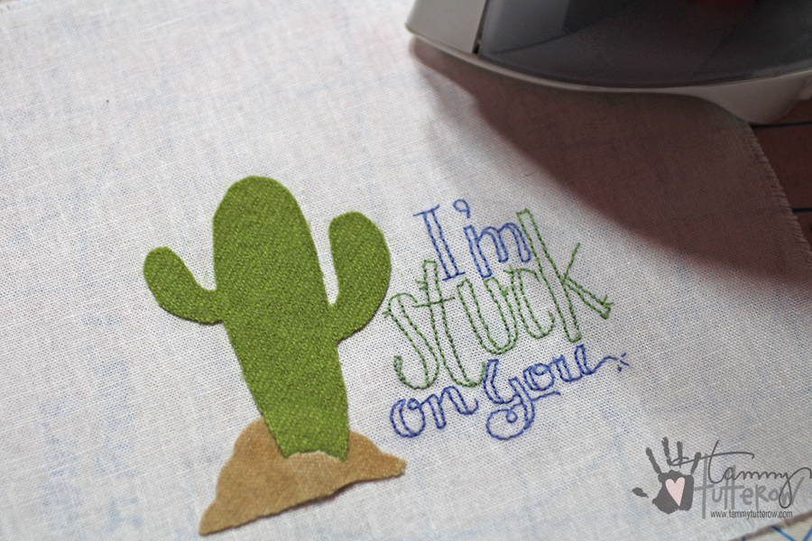 Easy Steps to Use Stamps in Embroidery: Step 10