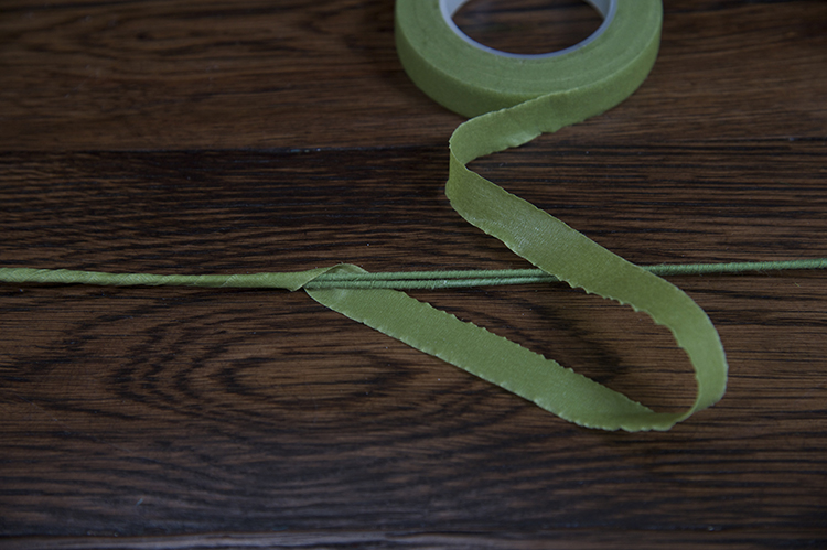 Trendy Flower and Leaf Garland Headband Tutorial: Step 2