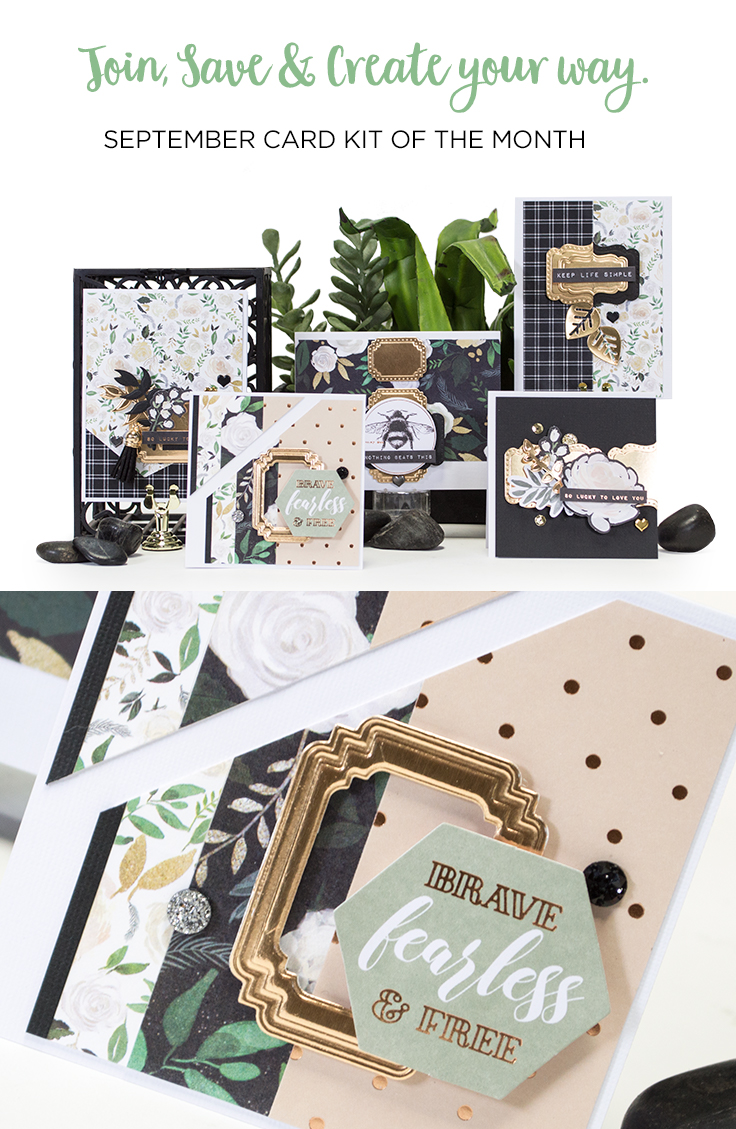 keep life simple september card kit of the month