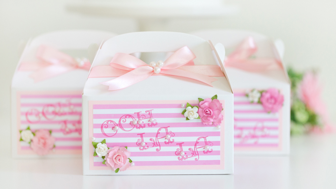 Delightful Ooh La La Party Favor Boxes by Alli Roth Step 8