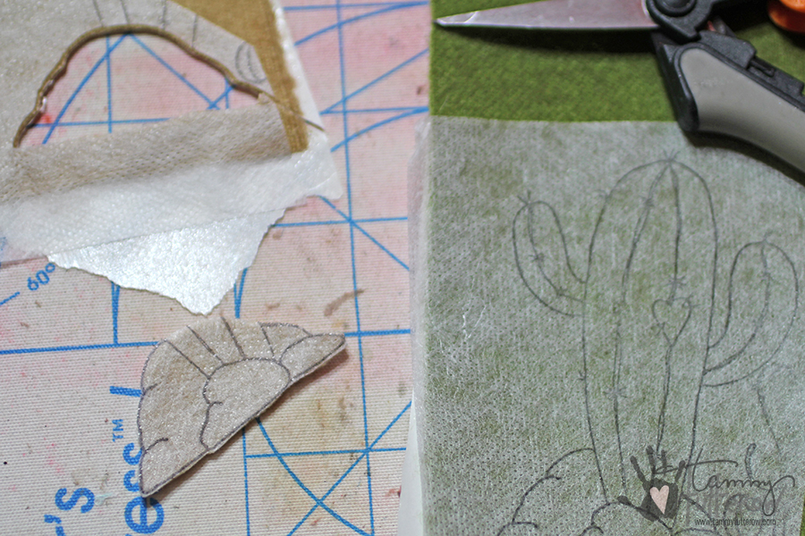 Easy Steps to Use Stamps in Embroidery: Step 8