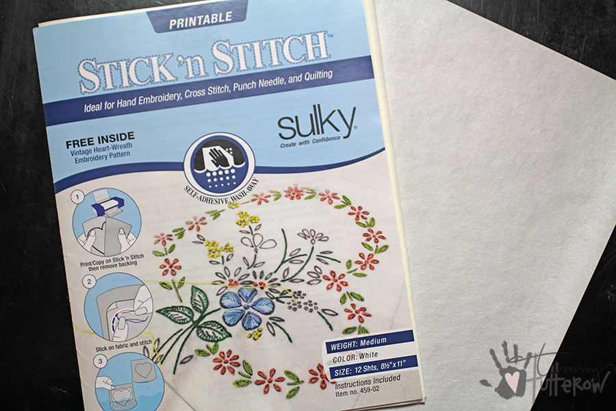 Easy Steps to Use Stamps in Embroidery: Step 1