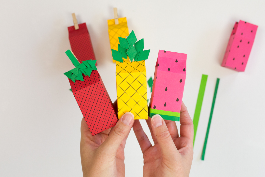 Easy DIY Fruit Themed Party Favors with Spellbinders! Create some fun, fruity party favors to bring a little extra sweetness to your summer gatherings this year!