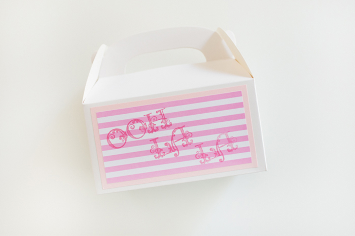 Delightful Ooh La La Party Favor Boxes by Alli Roth Step 3
