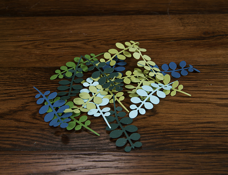Trendy Flower and Leaf Garland Headband Tutorial: Step 1
