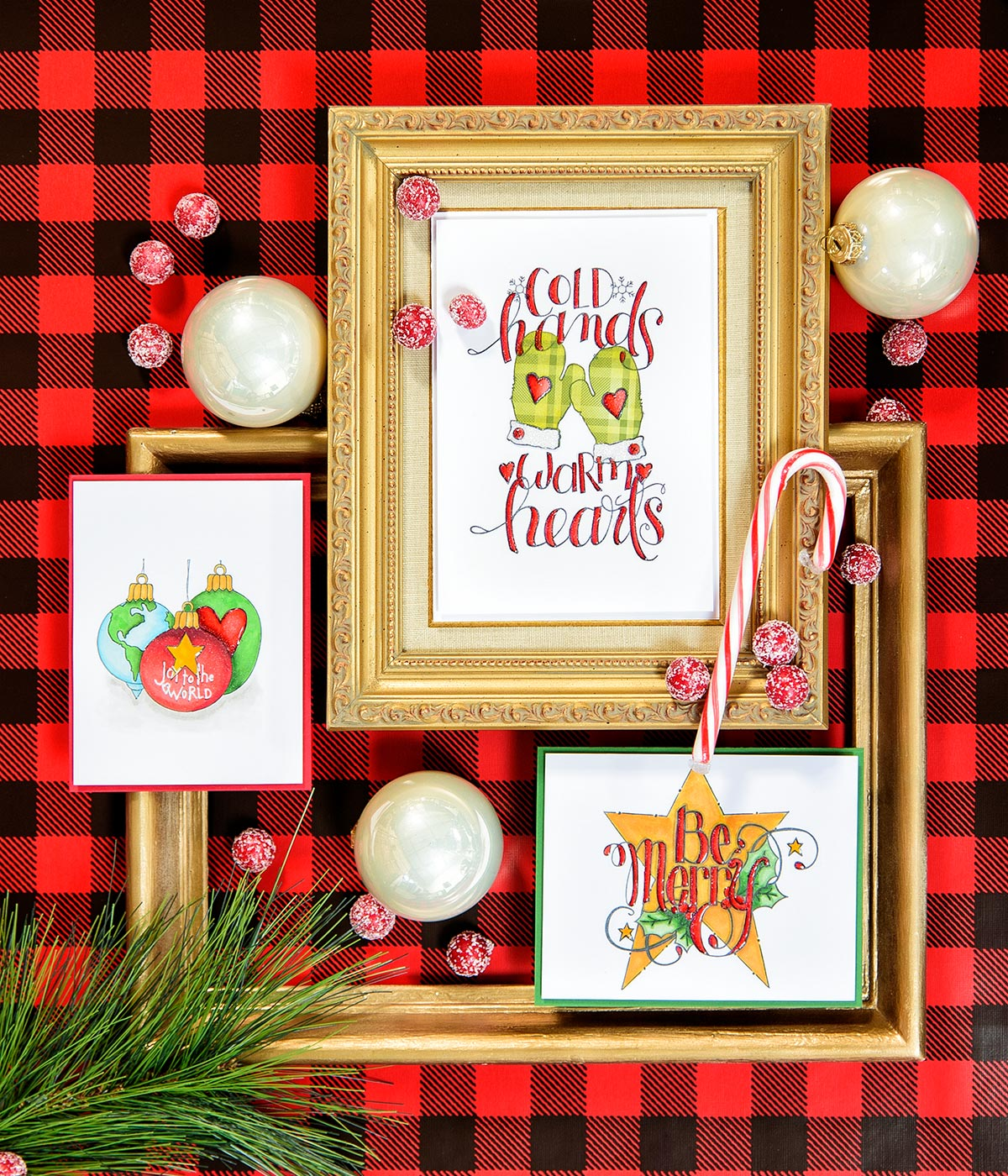 Colored Christmas Cards with Tammy Tutterow Holiday Stamps - Video ...