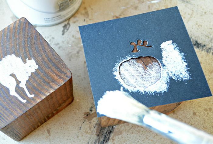 How to Create a Perfect DIY Wooden Halloween Tic Tac Toe Game by Miranda Webster Step 5