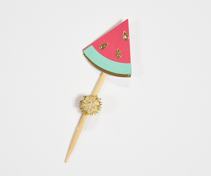 So Sweet Watermelon Birthday Party - Cupcake Topper
