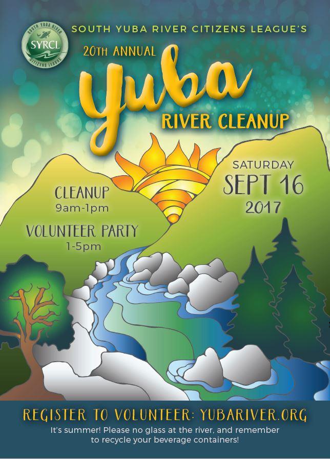 South Yuba Citizen's League River Clean-Up Day