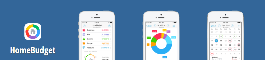 HomeBudget, a money management app