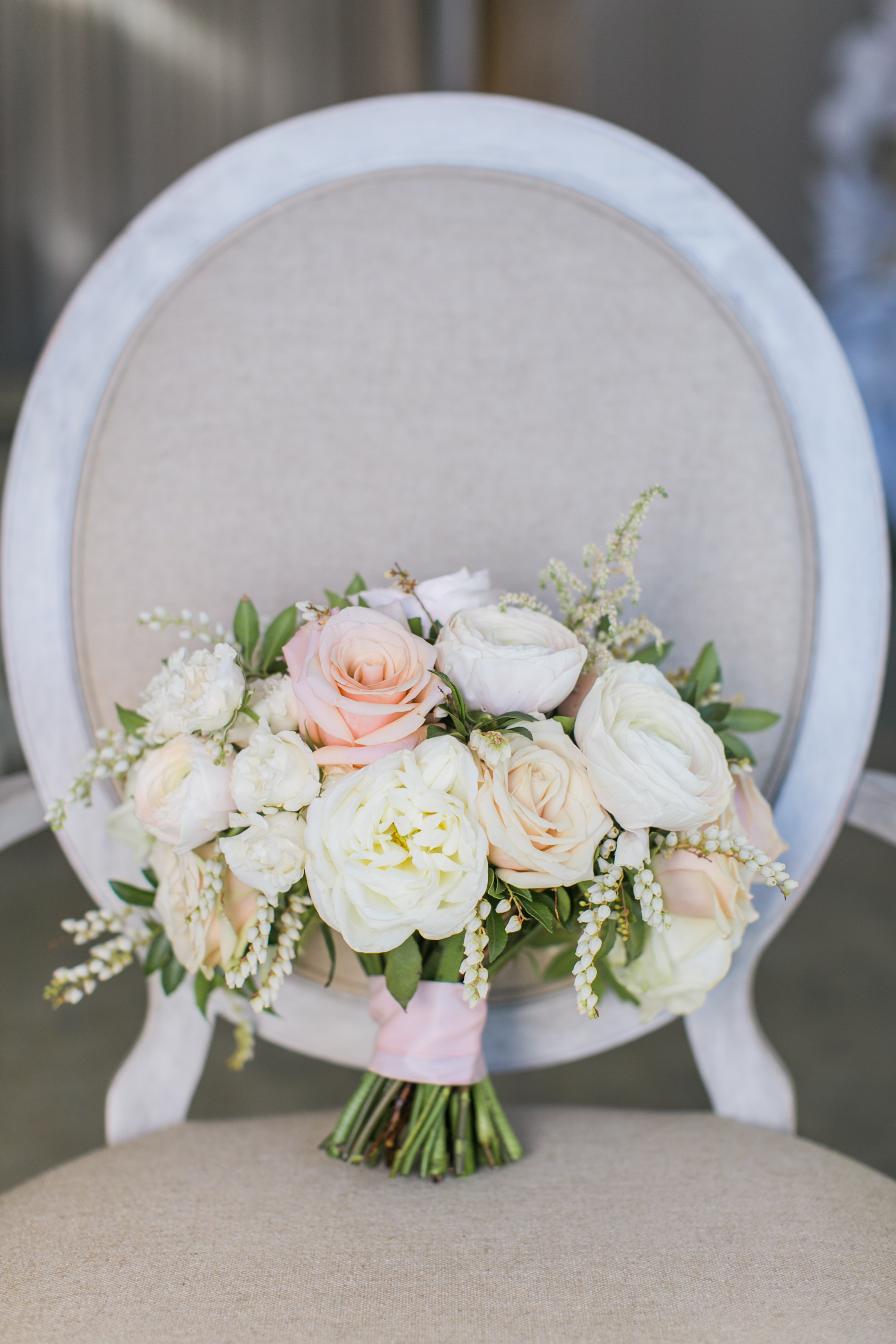 How To Be Bright And Beautiful Blush And Copper Wedding Ceremony