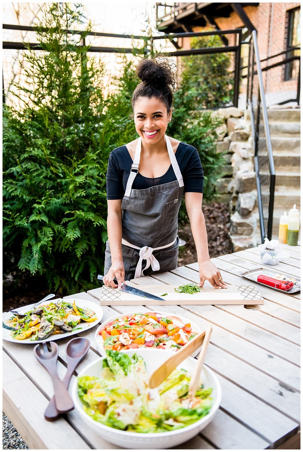 Summer Recipes: Salads & Prosecco Sorbet with Chef Christan Willis  |  Lemiga Events